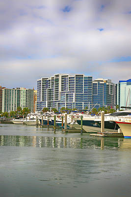 Photograph - Sarasota Marina by Chris Smith