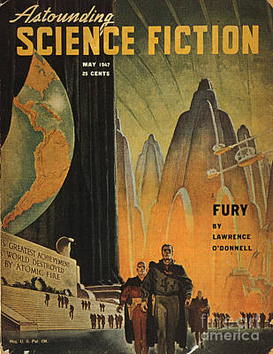 Photograph - Science Fiction Magazine by Granger