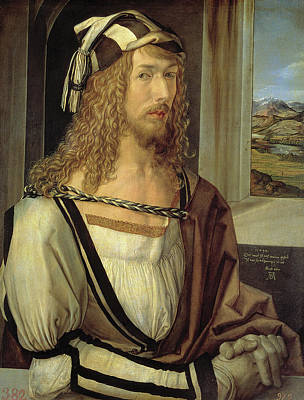 Painting - Self-portrait  by Albrecht Durer
