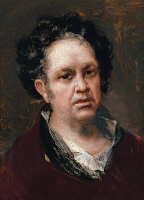 Self Portrait Painting - Self-portrait by Francisco Goya