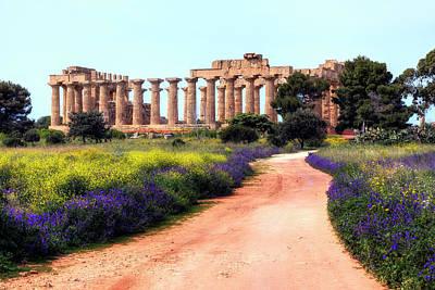 Sicily Photograph - Selinunte - Sicily by Joana Kruse