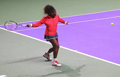 Serena Williams Photograph - Serena Williams In Istanbul by Manuela Krause
