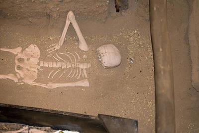Digital Art - Sipan Replica Of Actual Tombs by Carol Ailles