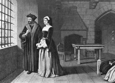 Mezzotint Photograph - Sir Thomas More (1478-1535) by Granger