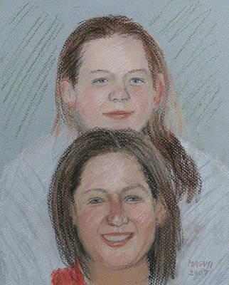 Pastel - Sisters by Masami Iida