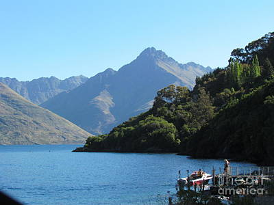 Photograph - South Island New Zealand by Joyce Woodhouse