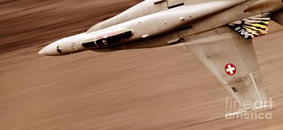 Speed Of Sound Print by Angel  Tarantella