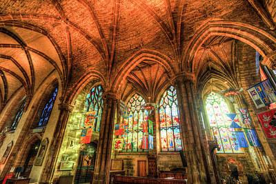 Photograph - St Giles Cathedral Edinburgh Scotland by David Pyatt
