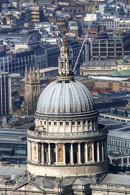 Photograph - St Pauls Cathedral by Chris Day