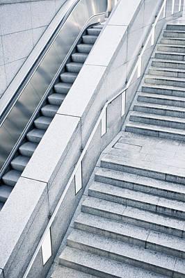 Stairs Art Print by Tom Gowanlock
