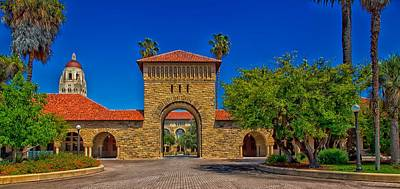 Stanford University Photograph - Stanford University by Mountain Dreams