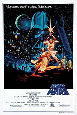 Star Wars Episode Iv - A New Hope 1977 Art Print