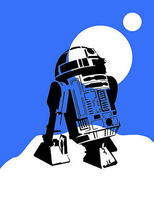 Science Fiction Mixed Media - Star Wars R2-d2 Collection by Marvin Blaine