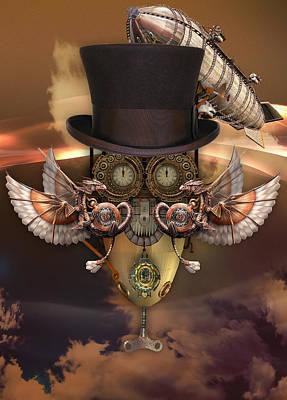 Steam Punk Mixed Media - Steampunk Art. by Marvin Blaine