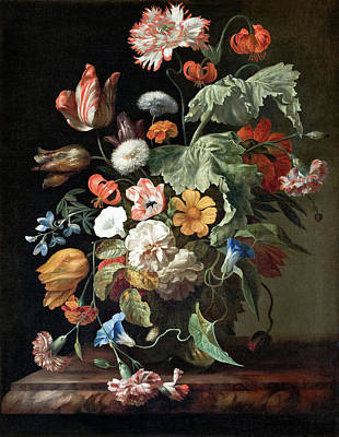 Painting - Still Life With Flowers by Rachel Ruysch