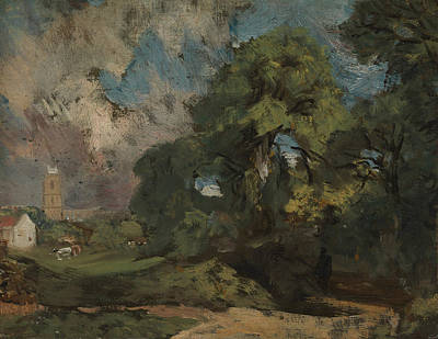 Painting - Stoke-by-nayland by John Constable