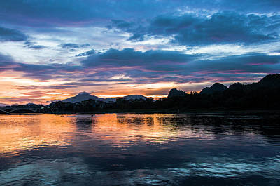 Photograph - Sunrise Scenery In The Morning by Carl Ning
