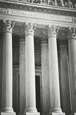 Photograph - Supreme Court Building by Brandon Bourdages