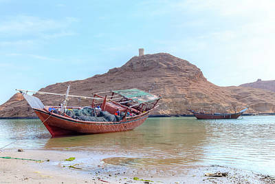 Dhow Photograph - Sur - Oman by Joana Kruse