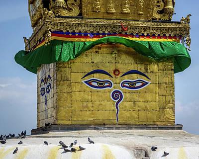 Photograph - Swayambhunath Stupa In Kathmandu by Dutourdumonde Photography