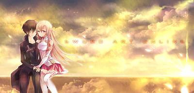 Design Digital Art - Sword Art Online by Super Lovely