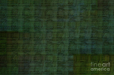 Technology Abstract Background Art Print by Michal Boubin