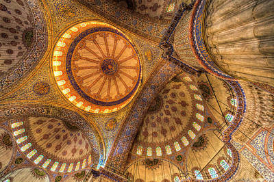 Photograph - The Blue Mosque Istanbul  by David Pyatt