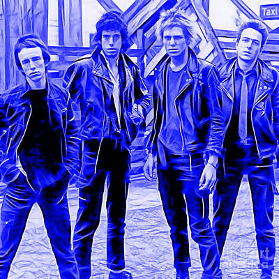 The Clash Collection Art Print by Marvin Blaine