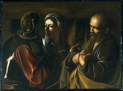 The Denial Of Saint Peter Original by Caravaggio