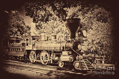 Photograph - The Lincoln Train by Paul W Faust -  Impressions of Light