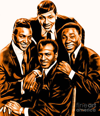The Ojays Collection Art Print by Marvin Blaine