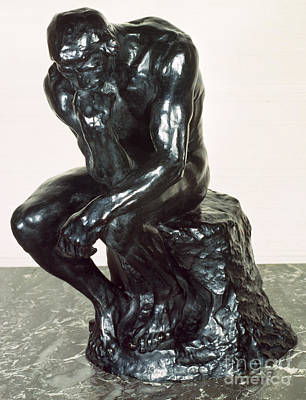 The Thinker Art Print by Auguste Rodin