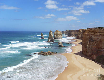 Photograph - The Twelve Apostles by Eena Bo