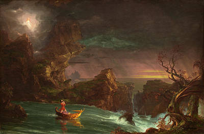 Painting - The Voyage Of Life, Manhood by Thomas Cole