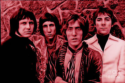 The Who Collection Art Print