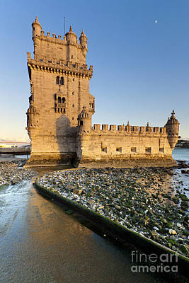 Tower Of Belem Art Print by Andre Goncalves