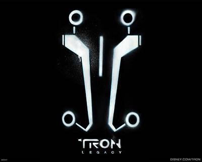 Tron Digital Art - Tron Legacy                     by F S