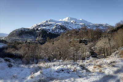 Photograph - Trossachs Scenery In Scotland by Jeremy Lavender Photography