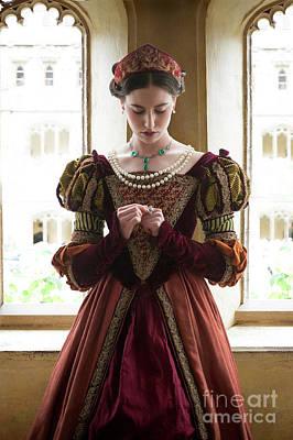Photograph - Tudor Woman by Lee Avison