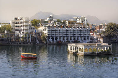 Udaipur - India Art Print by Joana Kruse