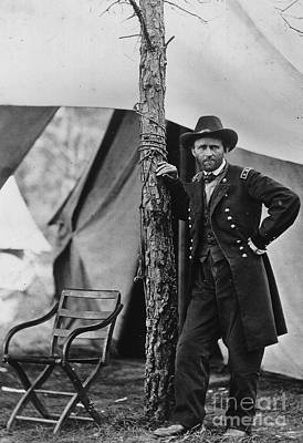 Against The War Photograph - Ulysses S Grant by American School