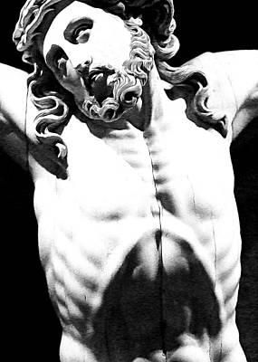 Crucify Digital Art Digital Art - Unconditional Love by Munir Alawi