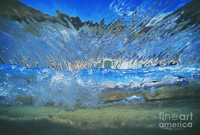Underwater Wave Art Print by Vince Cavataio - Printscapes