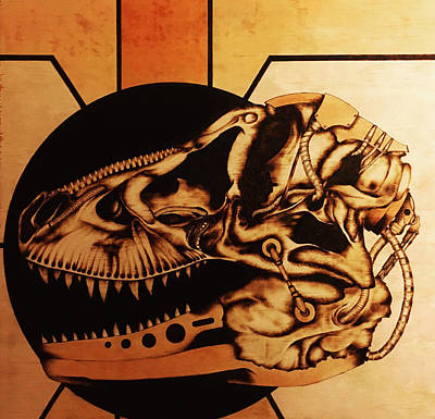 Pyrography - Untitled by Jeff DOttavio