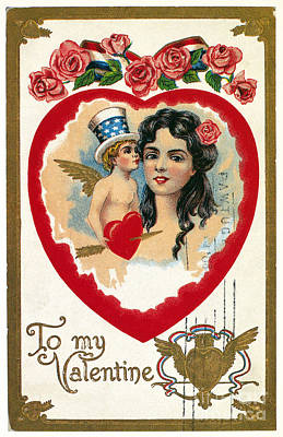 Photograph - Valentines Day Card by Granger