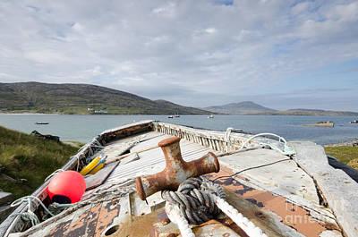 Scotland Wall Art - Photograph - Vatersay by Smart Aviation