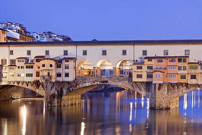 Vecchio Bridge Art Print by Andre Goncalves