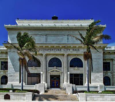 Ventura California Photograph - Ventura City Hall by Mountain Dreams
