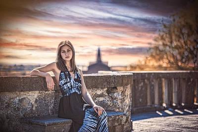 Urban Outfit Photograph - Vera by Traven Milovich