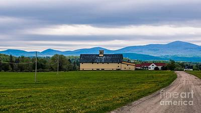 Photograph - Vermont Dairy Farm by New England Photography